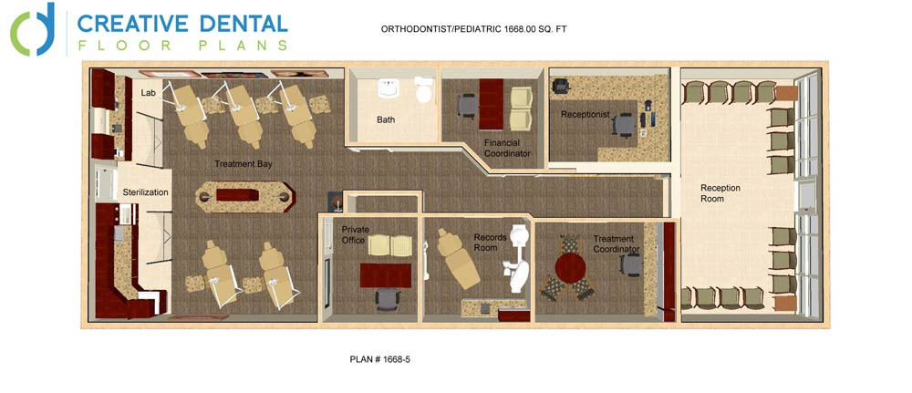 Creative Dental Floor Plans