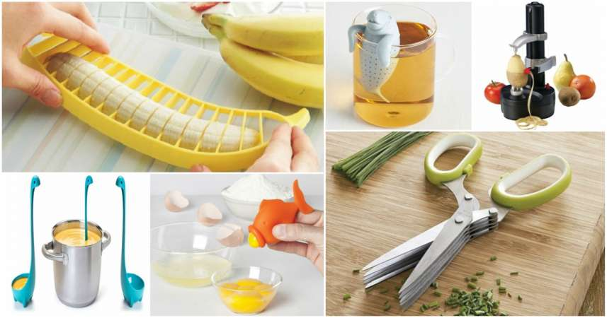 amazing kitchen gadgets sliding glass cabinet doors 18 hacks creativedesign tips awesome you must have