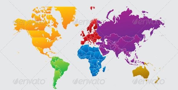 World Maps & Globes