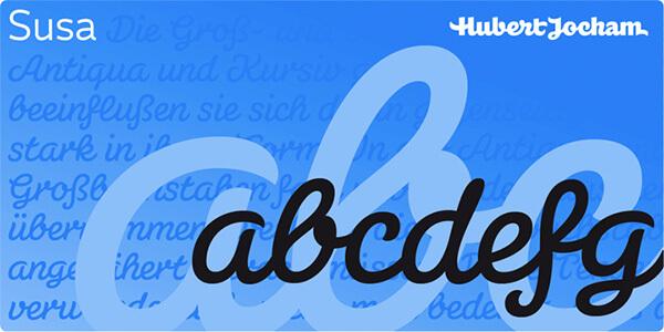 susa font