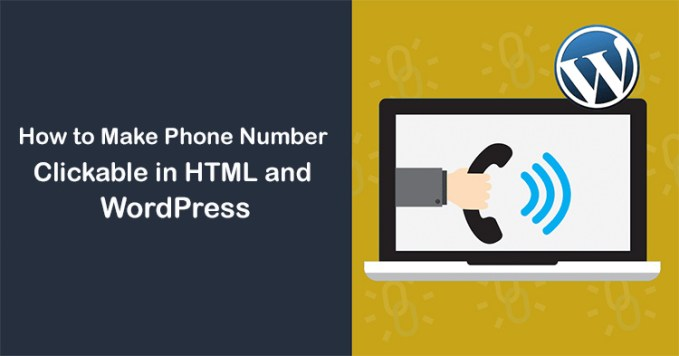 How to Make Phone Number Clickable in HTML and WordPress