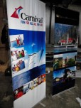 Tarpaulin Printing with Roll-Up or Pull-Up Stand
