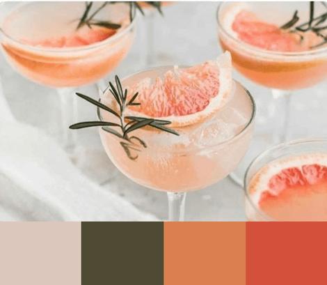 Nourriture et boissons avec style