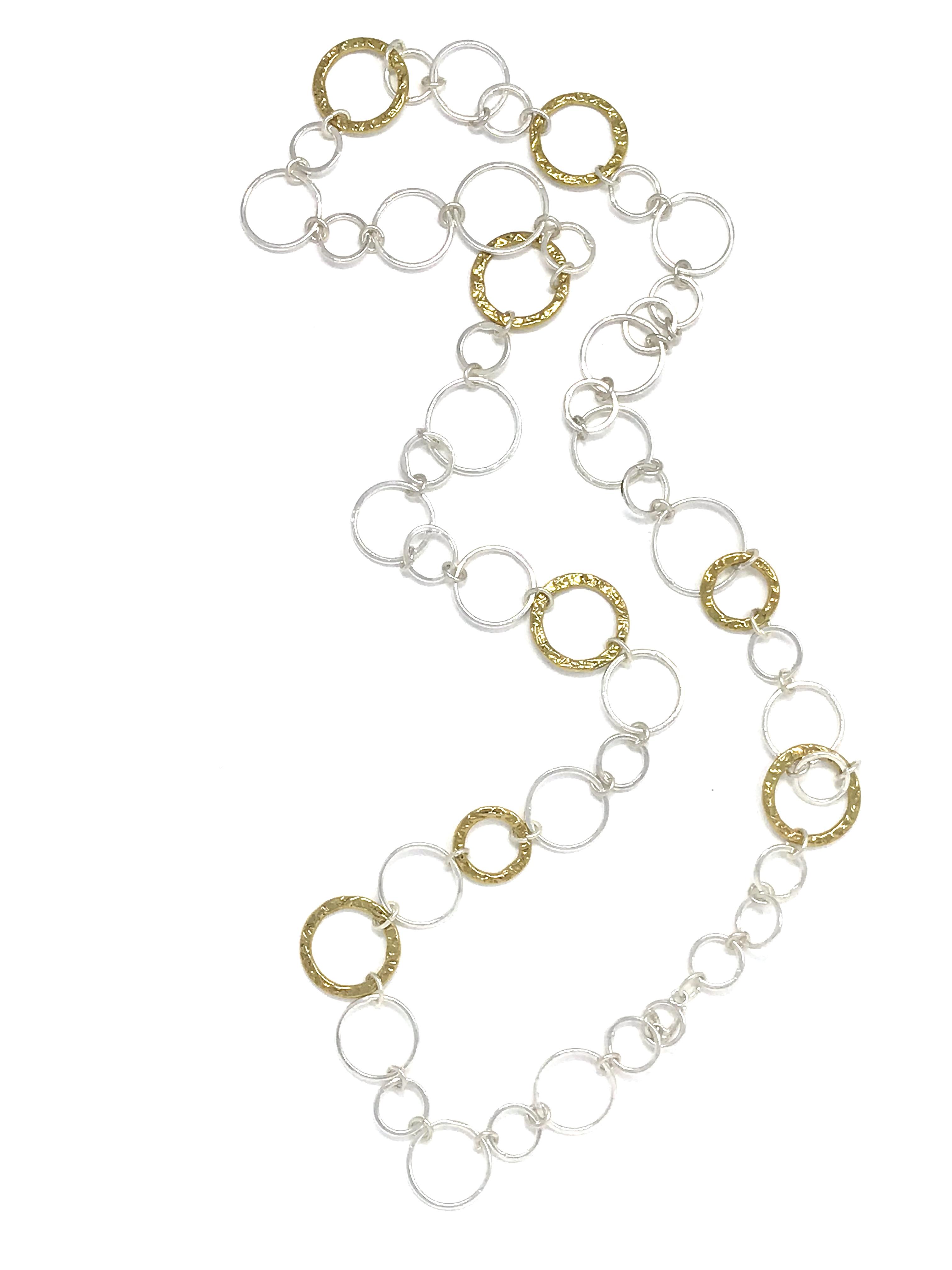 Impromptu mixed necklace