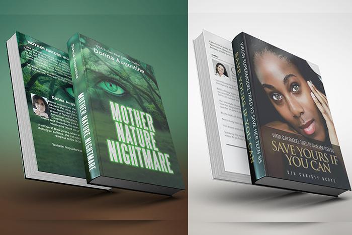 Front & Back Book Cover Design - Creative DOHL Design