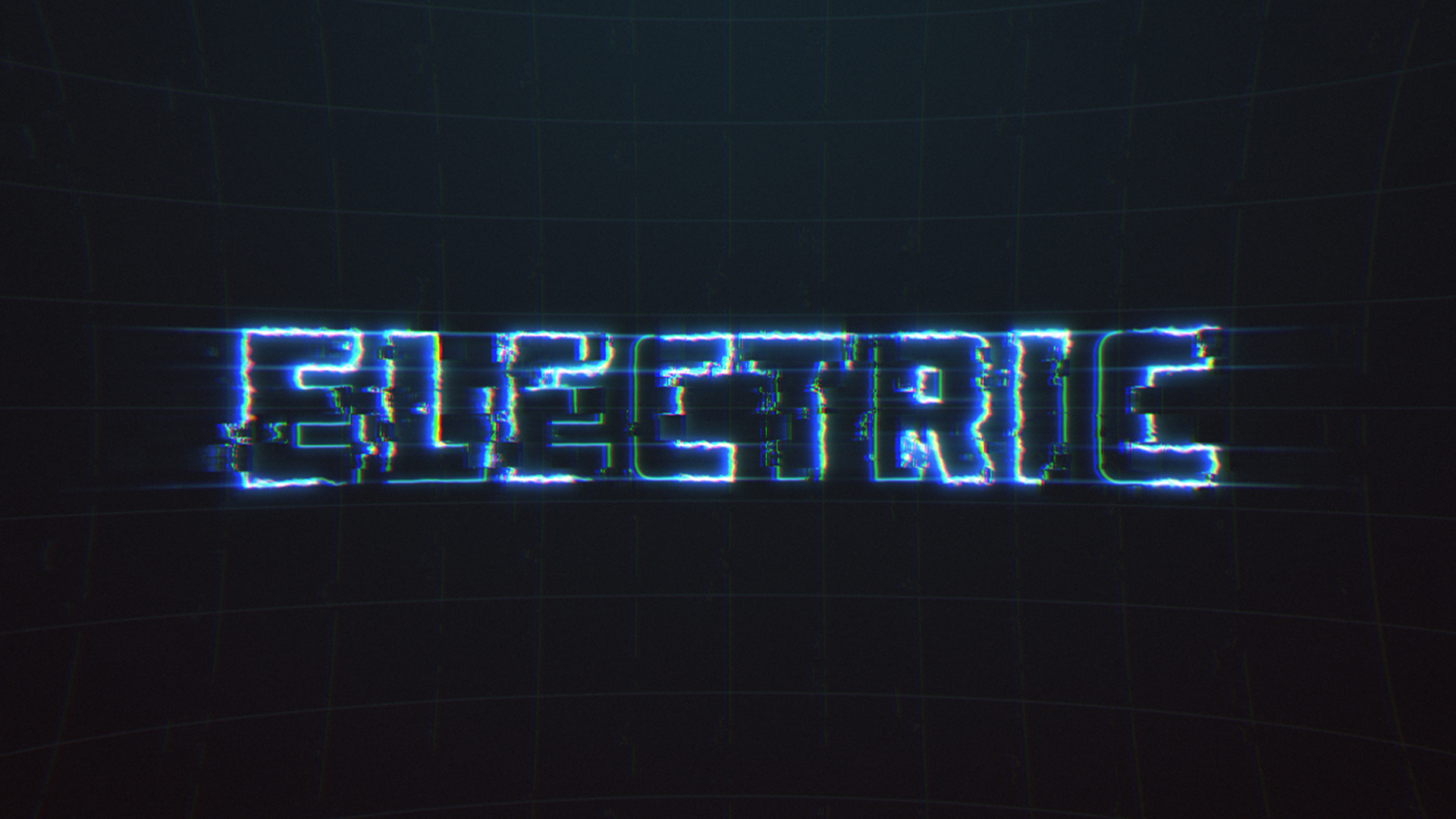 Electrical Pulsing Text Reveal CreativeDojo