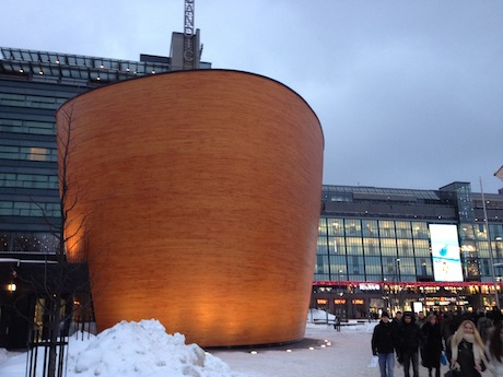 Kamppi Chapel of Silence.