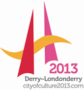 Derry~Londonderry City of Culture logo.