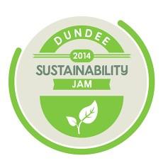 Dundee Sustainability Jam Logo