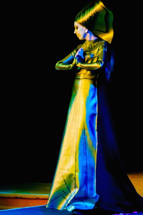 Tracey Stewart - Brass Rubbing Dress