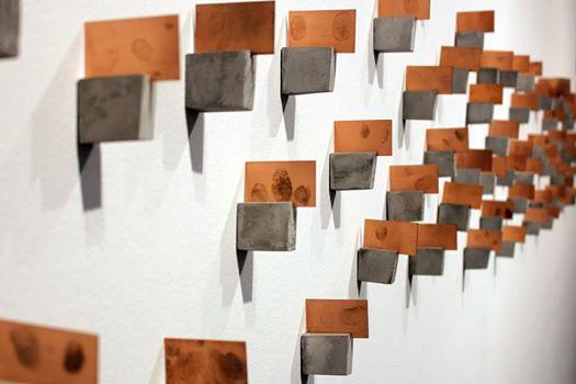 Interactive printed plates - Lesli Robertson and Natalie Macelliao