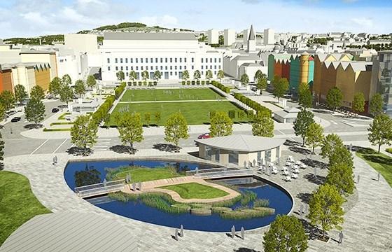 Dundee's new Slessor Gardens