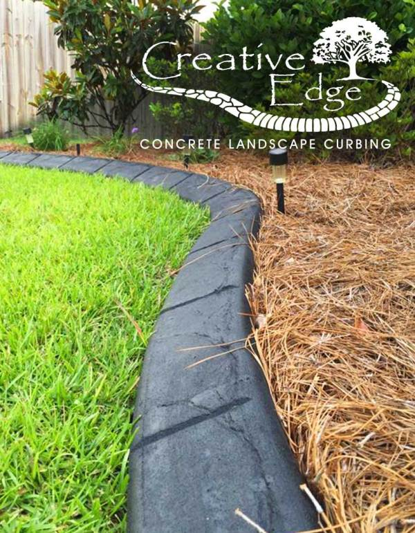 landscaping curbing & concrete