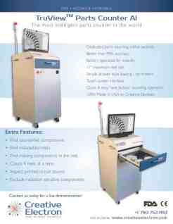 TruView Parts Counter AI Brochure