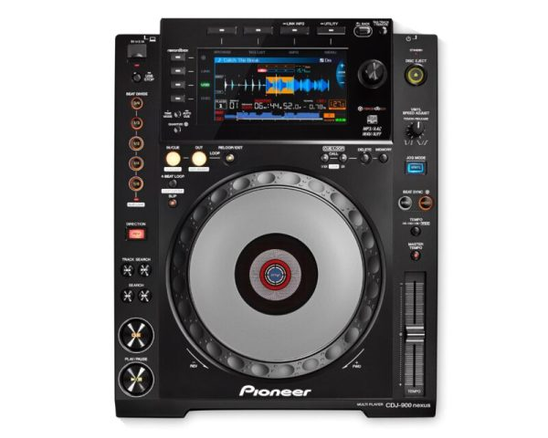 CDJ900NXS Multi-Format USB DJ Controller for rekordbox DJ