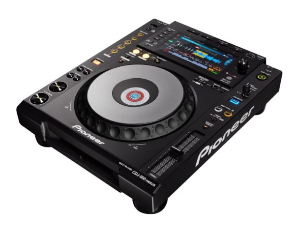 CDJ900NXS Multi-Format USB DJ Controller for rekordbox DJ3