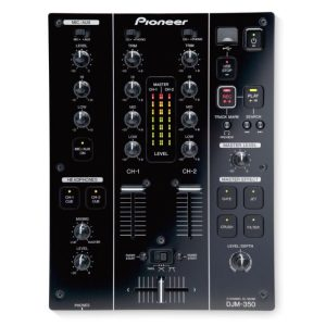 DJM350K 2Ch DJ Mixer with USB & 4-On-Board Effects BLACK