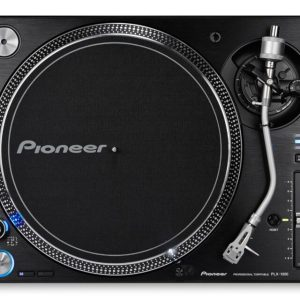 PLX1000 PRO DJ Direct Drive Turntable Black
