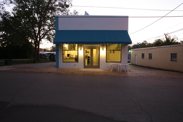 Little Building Café in Starkville, Mississippi