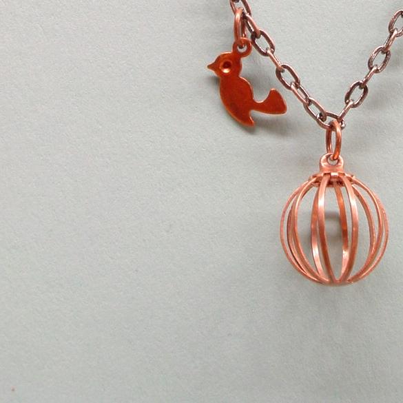 the Escape necklace by susan marie designs