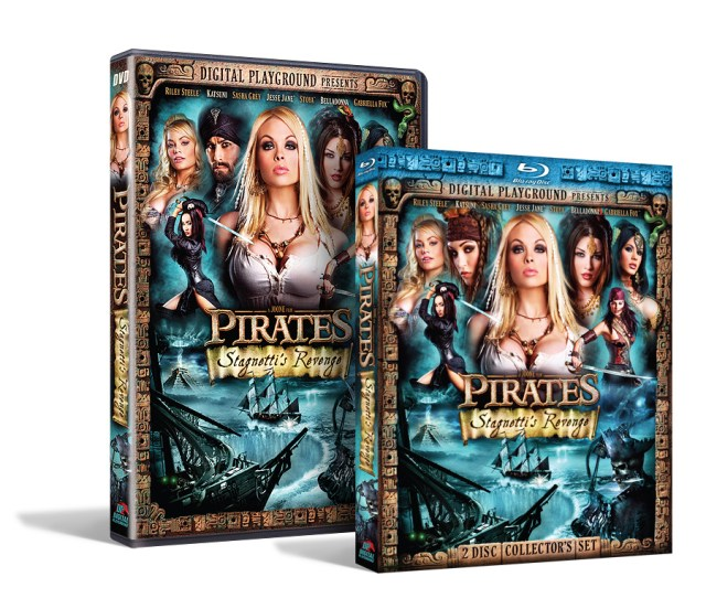 Pirates Stagnettis Revenge Dvd And Blu Ray Collectors Set