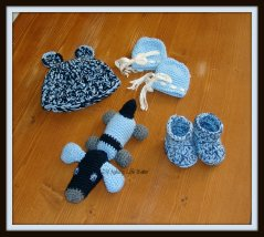 And again the baby set for my friend