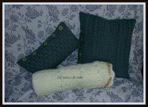 I'm ready for winter! Crochet pillows!
