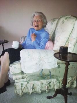 Mum laughing 2013