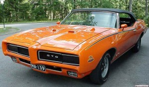 muscle car ford gto chevy ss classic sports car racer orange 1960 1970