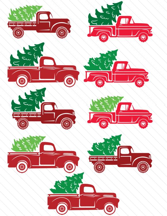 Christmas Truck Svg Free : christmas, truck, Christmas, Truck, Create, Creative, Fabrica, Freebies