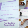 Number Line Secret Code Math Activity Creative Family Fun