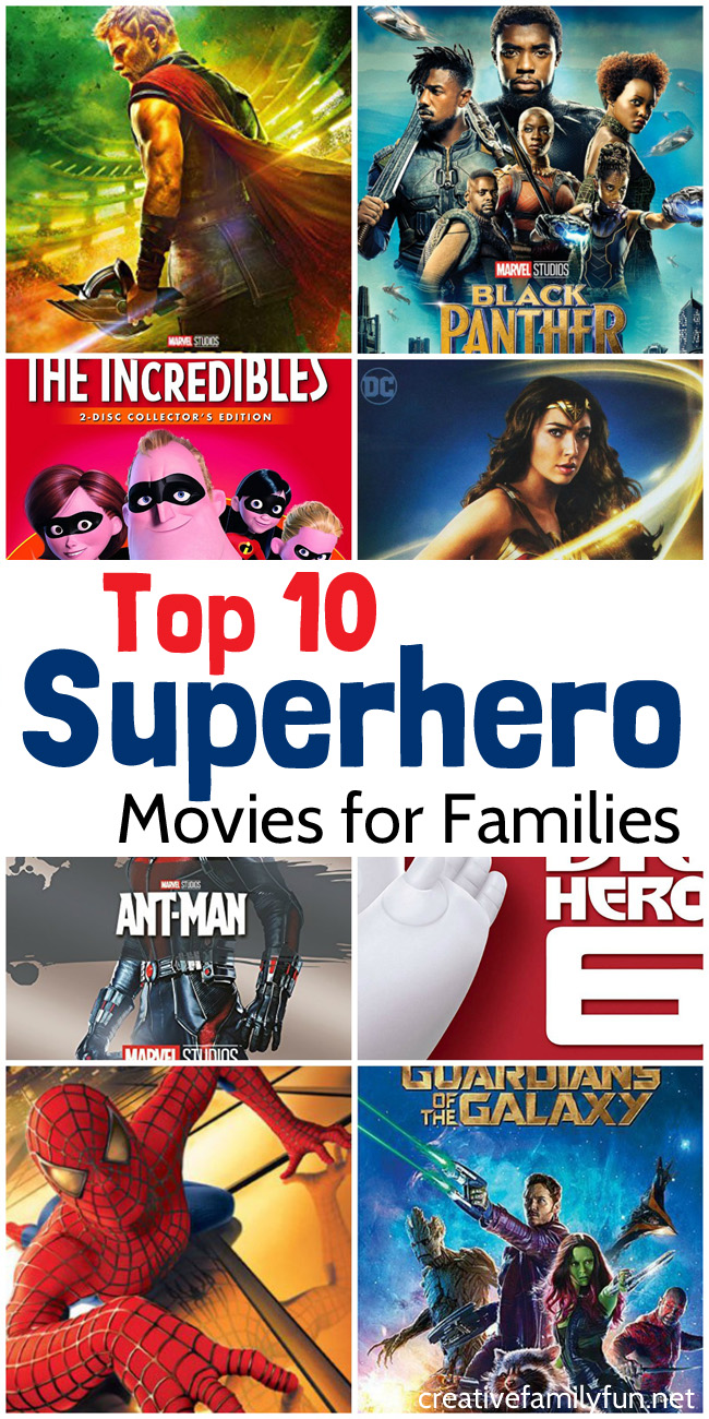 Super Hero Family Streaming : super, family, streaming, Superhero, Movies, Families, Creative, Family