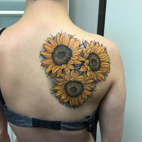 intricate-sunflower-tattoo