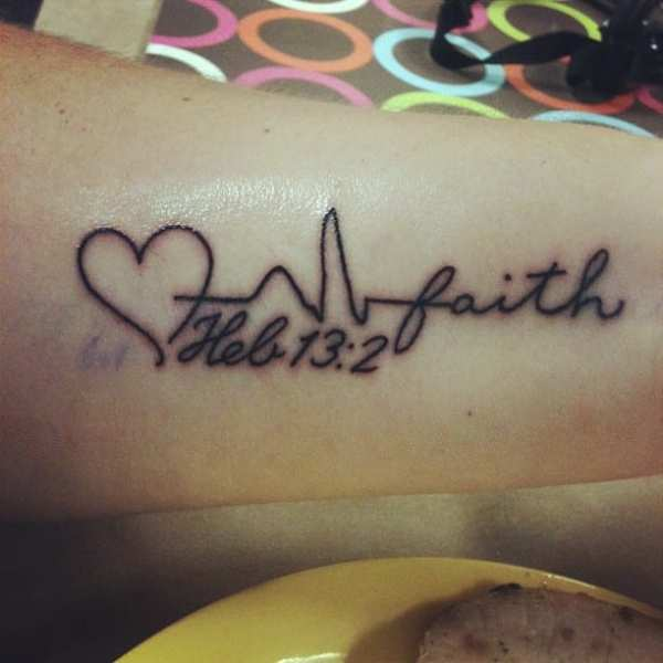 20 Hebrews Bible Verses Tattoos On Side Ideas And Designs