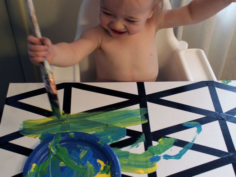 Toddler Made Geometric Wall Art