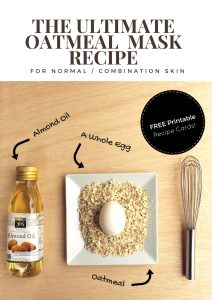 The Ultimate DIY Oatmeal Mask Recipe for Normal and Combination Skin Types