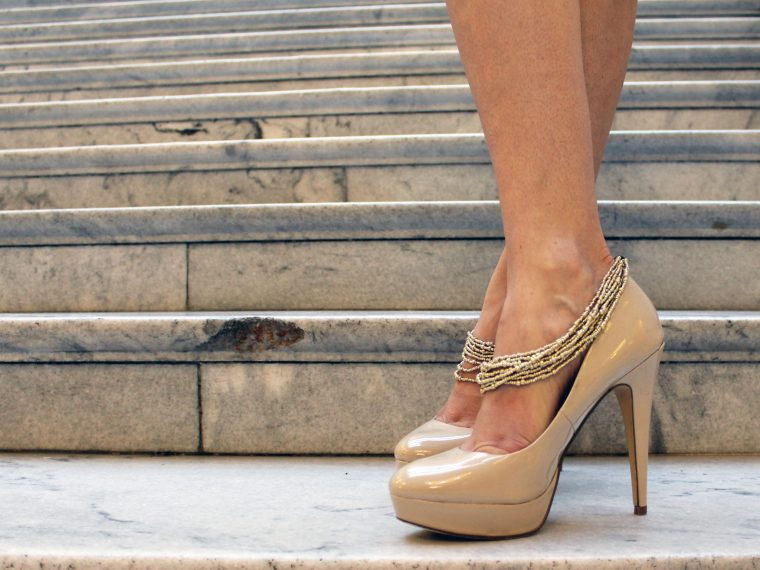 DIY some glam heels with this full tutorial HERE
