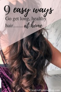 9 easy ways to get healthy hair at home