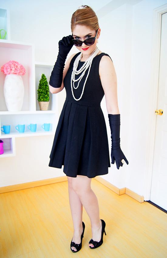 DIY Audrey Hepburn Halloween costumes