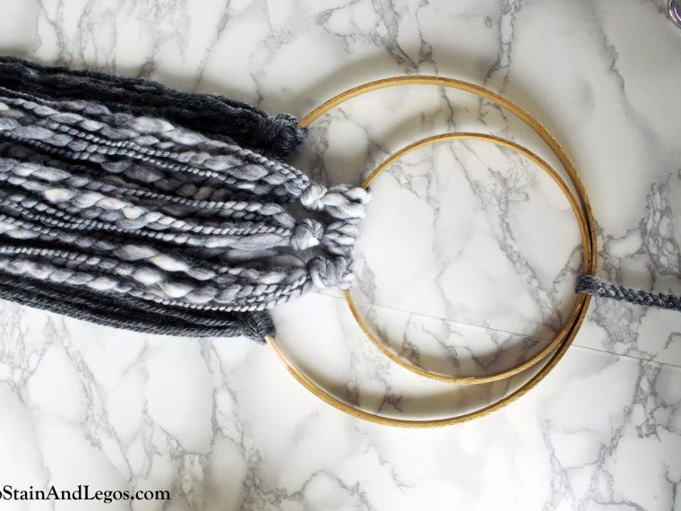 Make This Scandinavian Woven Wall Art DIY