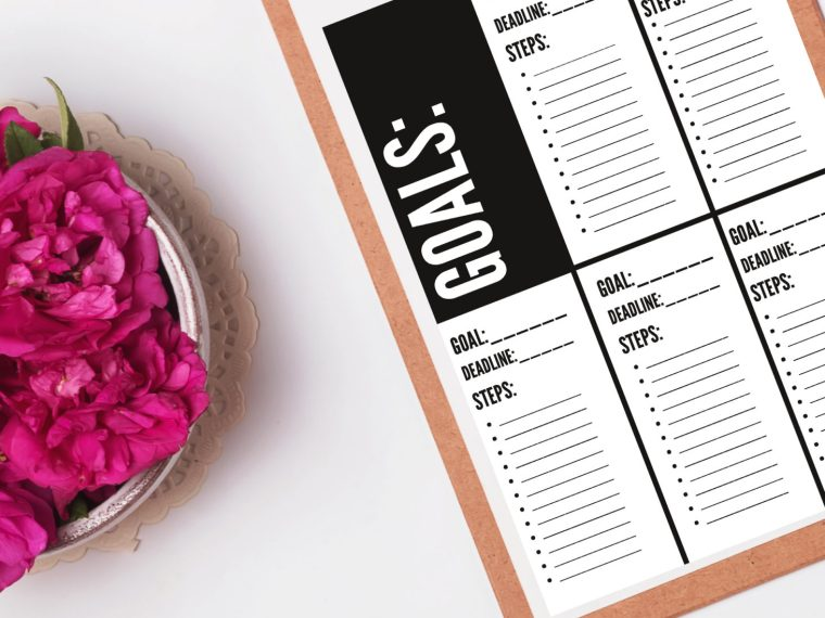 Smart Goals Worksheet Archives Creative Fashion Blog