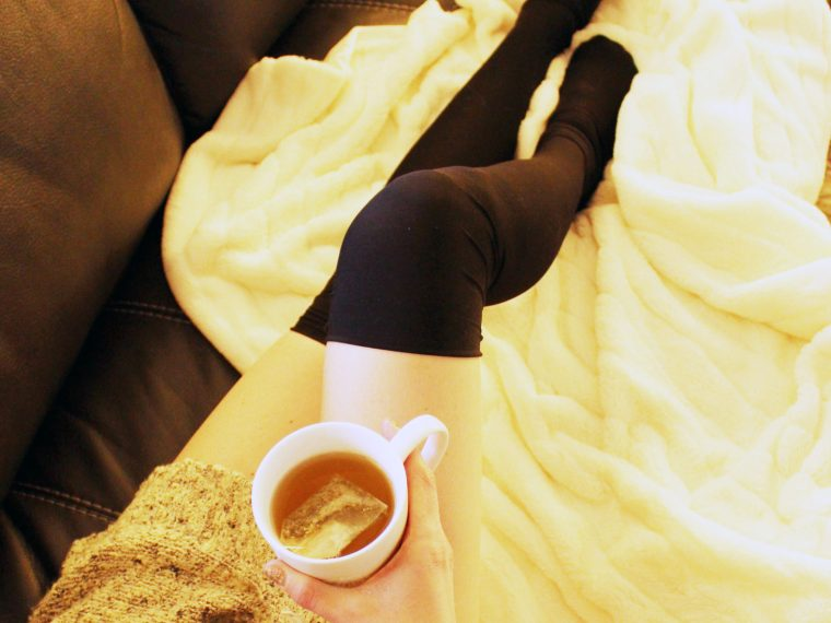 DIY Black Thigh High Socks from scratch . SO EASY!