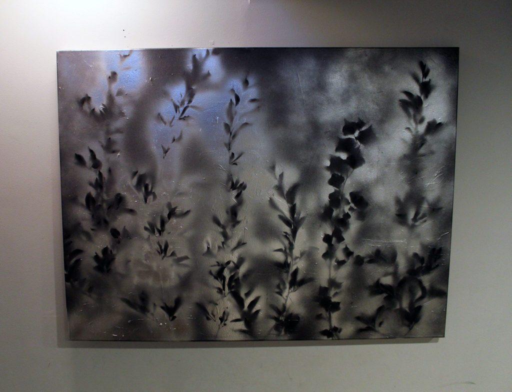 Easy spray paint canvas wall art