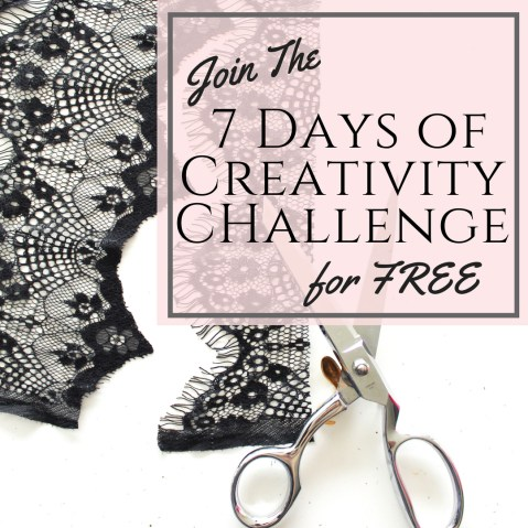 Join the 7 Days Of Creativity