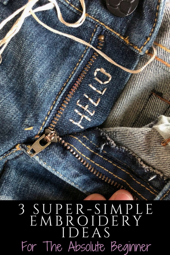 3 Easy Ways to Embroider Jeans For The Absolute Beginner .