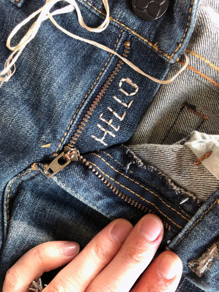 3 Ways to Embroider Jeans For The Absolute Beginner