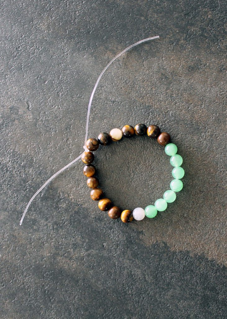 DIY Stone Stacking Bracelets . Crystals for jewelry making .