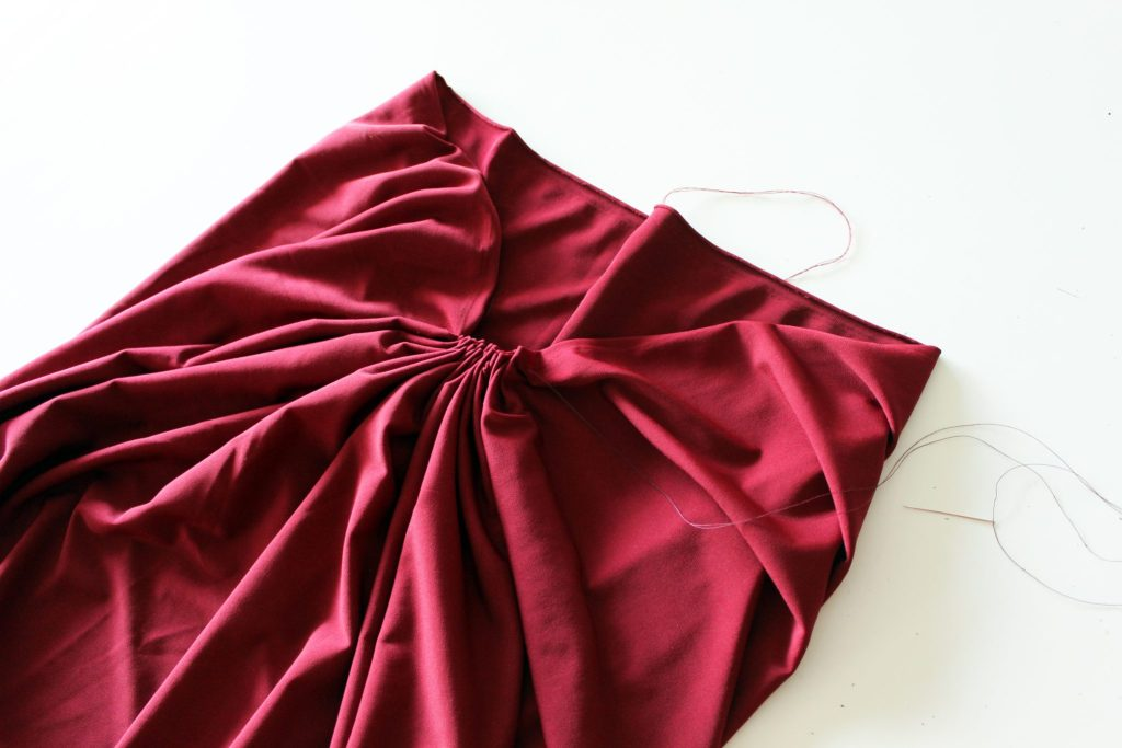 DIY Tent Dress Floor Length Maxi Dress.