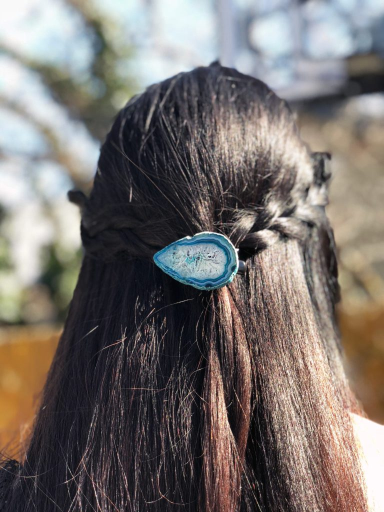 Make an Agate Hair Pin