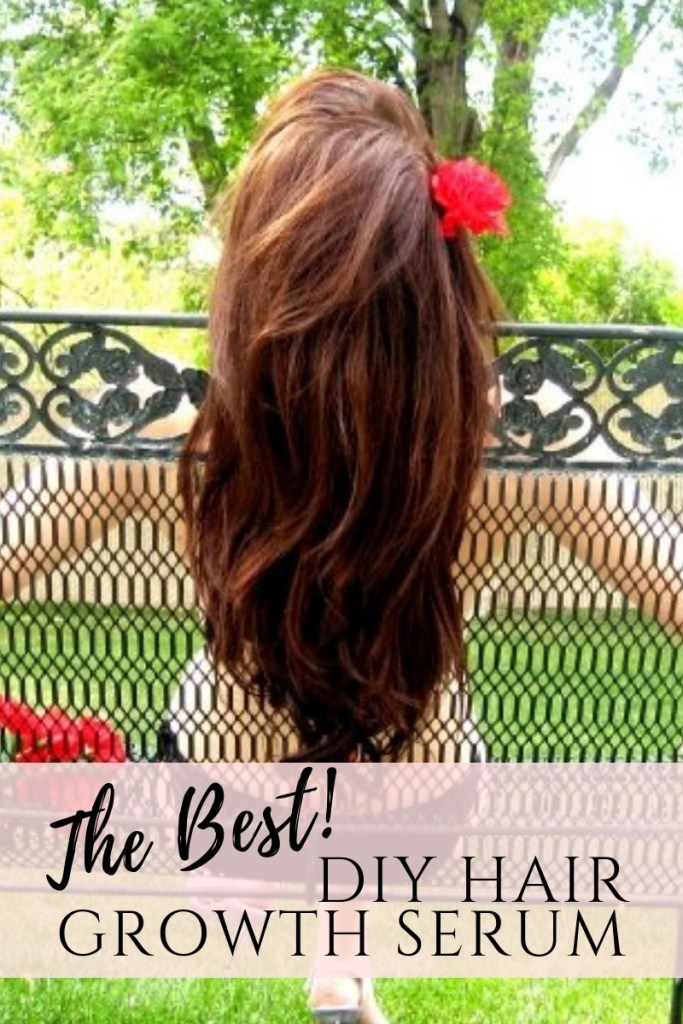 DIY the best hair growth serum spray with lavender essential oils and avocado oils